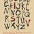 vetor · escove · alfabeto · grunge · mão - foto stock © mamziolzi
