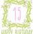 buon · compleanno · carta · invito · set · floreale · graphic · design - foto d'archivio © Mamziolzi