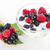 yogurt with forest berries in bowl stock photo © manaemedia