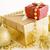 christmas · geschenken · goud · geschenk · geïsoleerd - stockfoto © manaemedia