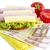 голод · деньги · сэндвич · бумаги · Финансы · завтрак - Сток-фото © manaemedia