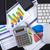 digitális · tabletta · mutat · táblázatok · modern · munkahely - stock fotó © manaemedia