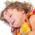 cute · pequeño · bebé · llorando · primer · plano · retrato - foto stock © manaemedia