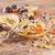 コーンフレーク · 果物 · 白 · ボウル · チョコレート · チップ - ストックフォト © manaemedia