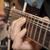 közelkép · lövés · elektromos · gitár · feketefehér · zene · gitár - stock fotó © manaemedia