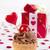 cseresznye · szív · étel · szeretet · piros · édes - stock fotó © manaemedia