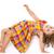 criança · comprometido · ginástica · isolado · branco · pequeno - foto stock © manaemedia