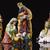 Jézus · bárány · festett · üveg · tart · húsvét · üveg - stock fotó © manaemedia