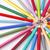 molti · diverso · colore · matite · cerchio · bianco - foto d'archivio © manaemedia