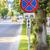 warning tow away zone sign stock photo © manaemedia
