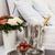 pezsgő · ágy · hotelszoba · jég · vödör · szemüveg - stock fotó © manera