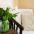 Home interior, vintage chair stock photo © manera