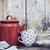retro · konyhaasztal · nosztalgikus · csendélet · stílus · tea - stock fotó © manera