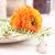 mesa · amarillo · decoración · frescos · flores - foto stock © manera