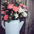 bouquet of roses in vintage coffee pot stock photo © manera