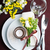 Festive table setting in brown stock photo © manera