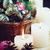 ピンク · クリスマス · 装飾 · 縞模様の · 木製 - ストックフォト © manera