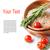 plantilla · comida · vegetariana · frescos · tomates · arroz · romero - foto stock © manera