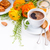 vers · continentaal · ontbijt · gezonde · voeding · roereieren · salade · kaas - stockfoto © manera