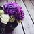 большой · букет · свежие · цветы · Purple · белый - Сток-фото © manera