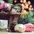 hermosa · vintage · Navidad · resumen · frontera - foto stock © manera