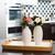 otthon · belsőépítészet · egyszerű · váza · virágok · asztal - stock fotó © manera