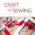 ferramentas · de · costura · feito · à · mão · fio · tesoura · papel · pardo - foto stock © manera
