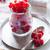rouge · jar · verre · bois · blanche · table - photo stock © manera