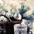Noel · hediyeler · mumlar · kutu - stok fotoğraf © manera