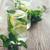 gözlük · ev · yapımı · limonata · rustik · ahşap · mavi - stok fotoğraf © manera
