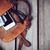 oranje · zak · Open · geïsoleerd · witte · vrouw - stockfoto © manera