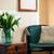 домой · интерьер · Vintage · Председатель · подушкой · букет - Сток-фото © manera