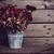 rusztikus · piros · virágok · konzerv · váza · öreg · klasszikus - stock fotó © manera