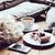 estilo · de · vida · almohadas · ramo · tulipanes · café - foto stock © manera