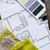 belső · dolgozik · asztal · építészeti · terv · ház - stock fotó © manera