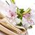 sárga · virágok · vászon · virágcsokor · virág · levél · nyár - stock fotó © manera