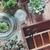 pot · oude · houten · tafel · hout · staal - stockfoto © manera