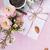 déjeuner · rose · couleurs · café · fleurs · bonbons - photo stock © manera