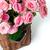 primer · plano · ramo · rosa · rosas · cesta - foto stock © manera