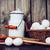 cocina · naturaleza · muerta · preparación · cocina · brillante · madera - foto stock © manera