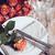 tablo · bağbozumu · gözlük · çatal · bıçak · takımı · eski - stok fotoğraf © manera