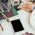 смартфон · таблице · художник · студию · акварель · палитра - Сток-фото © manera
