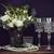 virágcsokor · fehér · virágok · gyöngy · gyöngyök · borospoharak · gyönyörű - stock fotó © manera