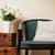 domu · wnętrza · vintage · krzesło · poduszkę · bukiet - zdjęcia stock © manera