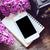 jóvenes · primavera · lila · flores · blanco - foto stock © manera