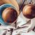 üres · tányérok · tálak · kék · fából · készült · felső - stock fotó © manera