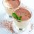 desserts · geïsoleerd · witte · chocolade · vruchten - stockfoto © manera