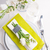 festive table setting in green stock photo © manera