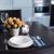 ホーム · 表 · 単純な · 花 · 眼鏡 · カトラリー - ストックフォト © manera