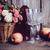 rusztikus · csendélet · friss · természetes · rózsaszín · rózsák - stock fotó © manera